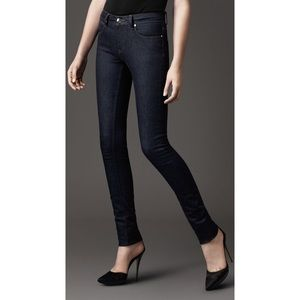 Burberry Thurlestone Mid Rise Skinny Jeans